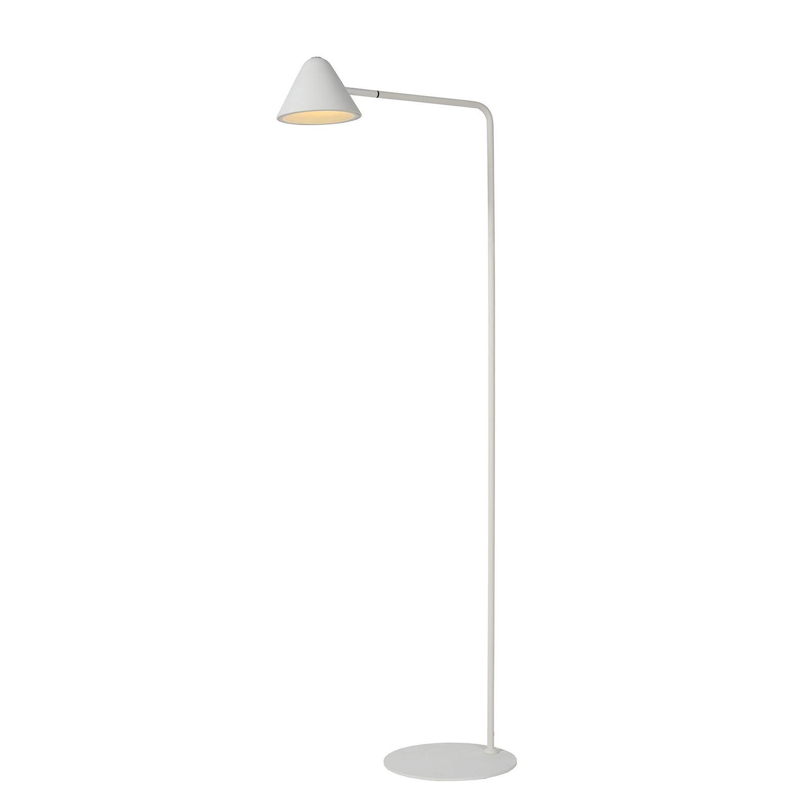 LED-lattiavalo Devon metallia, valkoinen