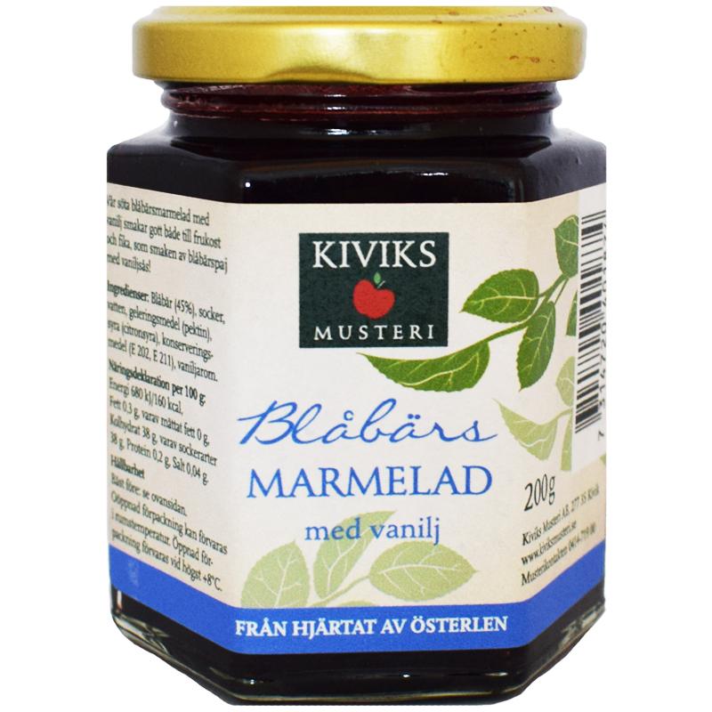 Marmelad Blåbär & Vanilj 200g - 56% rabatt