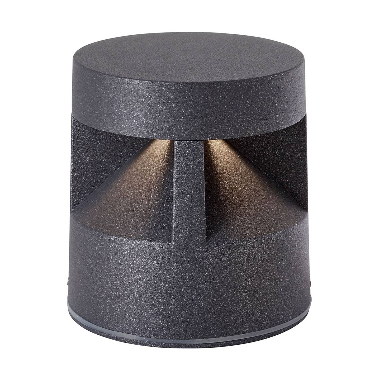 AEG Winslow -LED-pollarivalaisin, korkeus 11,5 cm