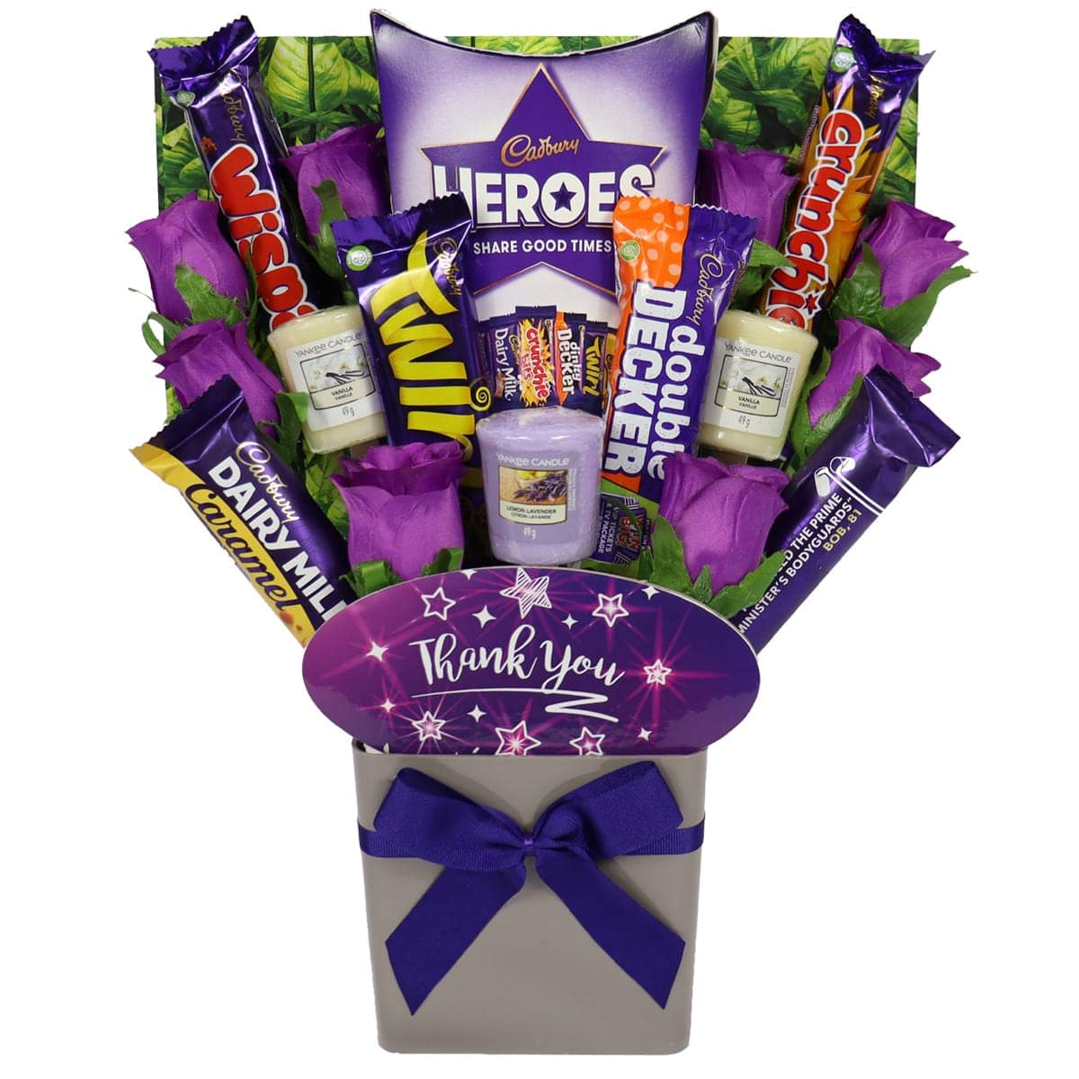 The Thank You Yankee Candle & Cadbury Bouquet