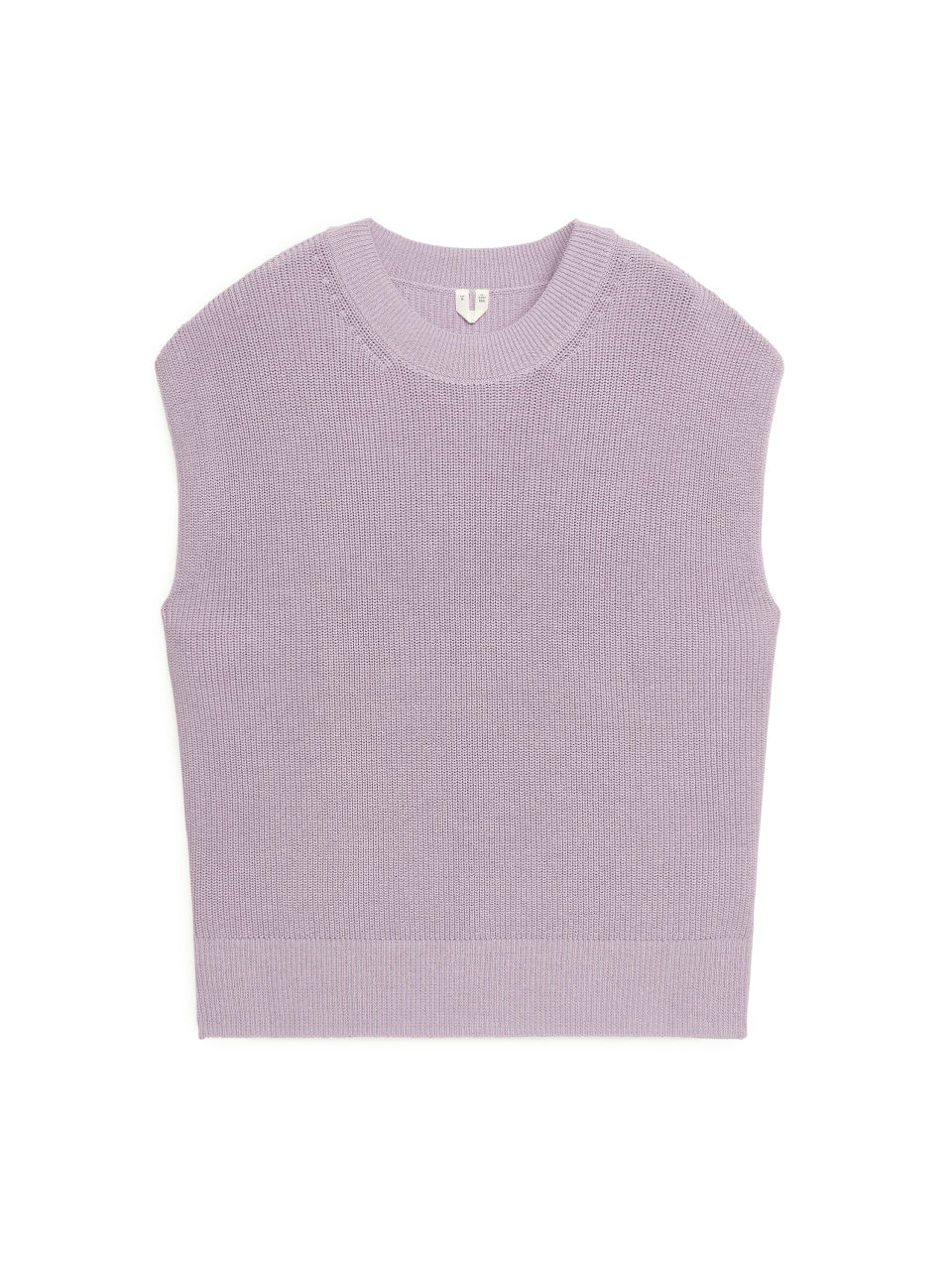 Knitted Cotton Top - Purple