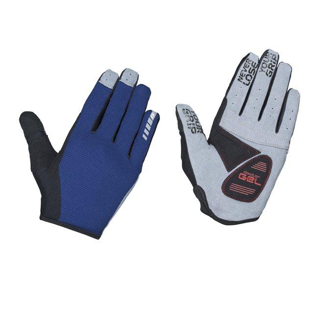 GripGrab Shark Padded Full Finger Glove, Cykelhandskar långa