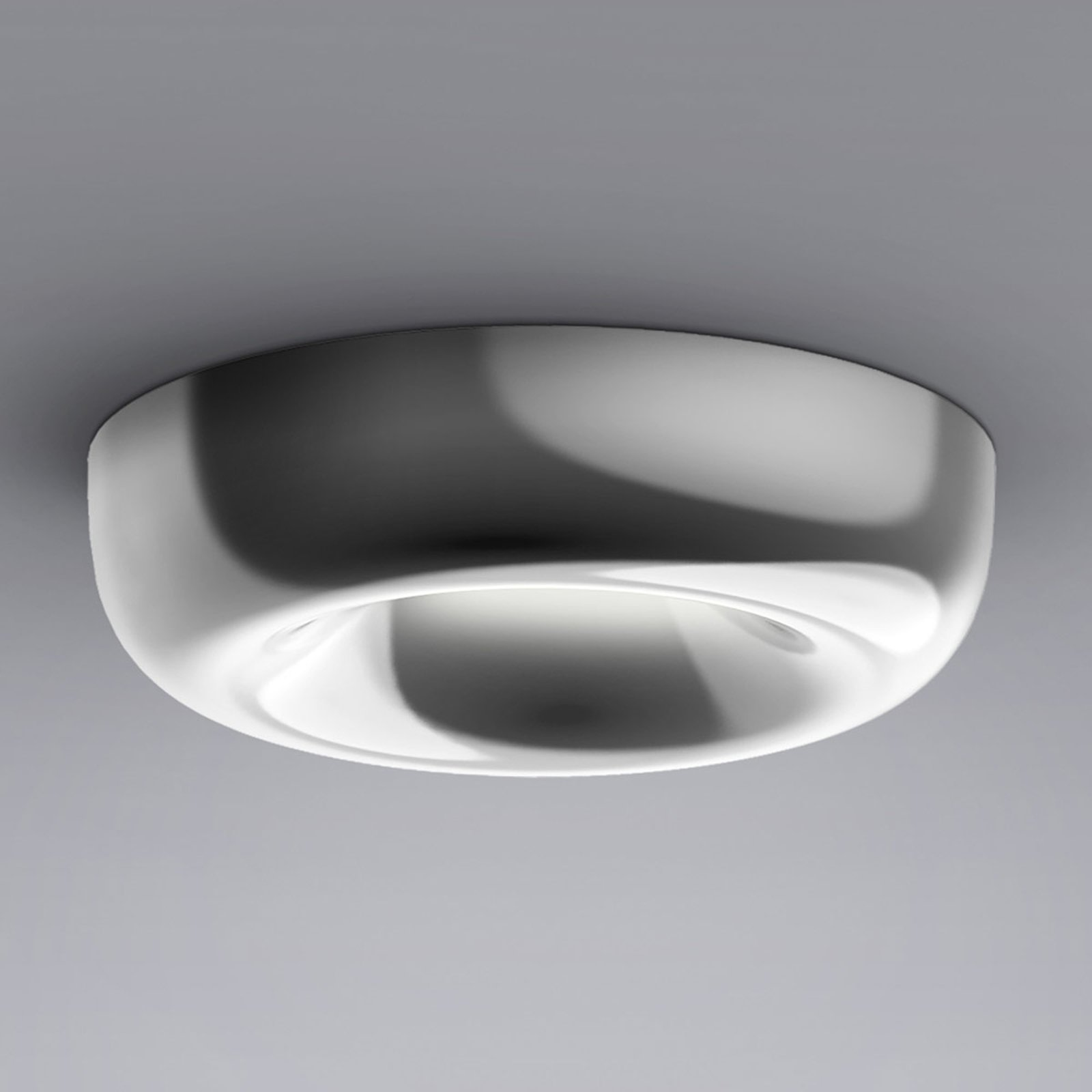 serien.lighting Cavity Recessed L, blank aluminium