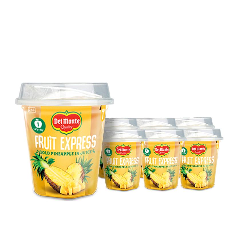 Ananaspalat Fruit Express 6kpl - 51% alennus