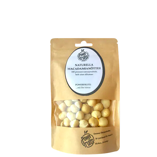 Naturella Macadamianötter Raw, 100 g