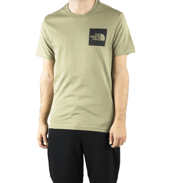 The North Face M S/s Fine Tee T-shirts GREEN
