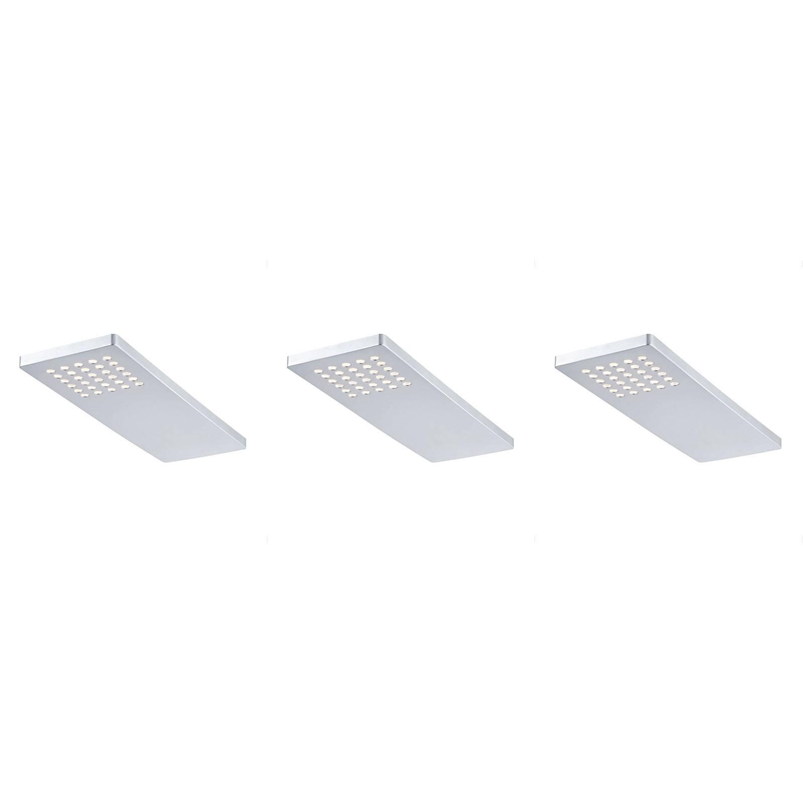 Paulmann Pattern LED-kaapinalusvalaisin 3 kpl