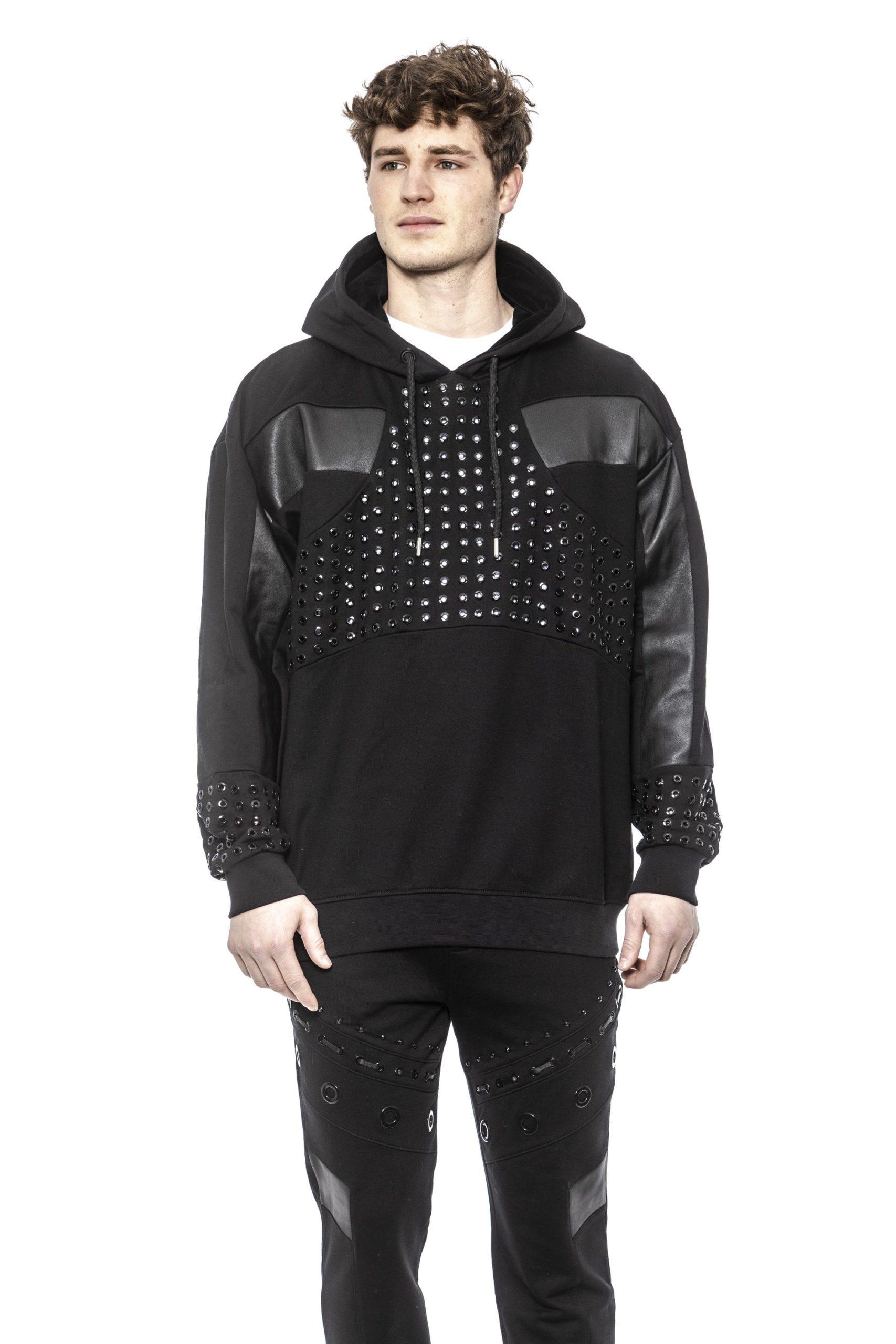 Les Hommes Men's Sweater Black LE1395262 - S