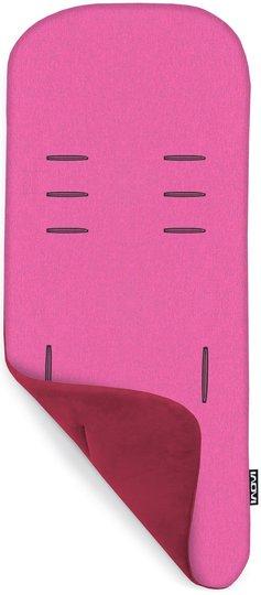 Inovi Memory Foam Sittepute Vendbar, Pink/Pink Melange