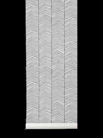Herringbone Tapet