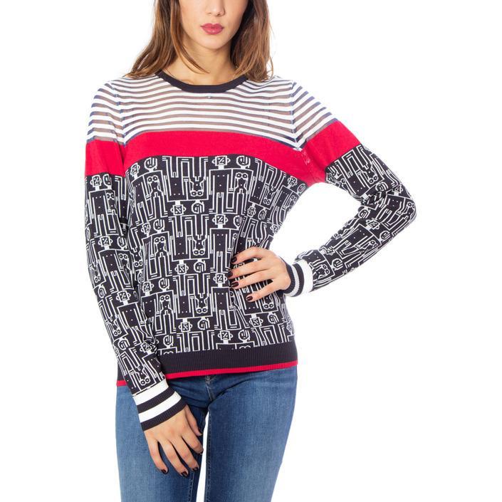 Desigual Women's Sweater Blue 167883 - blue XS