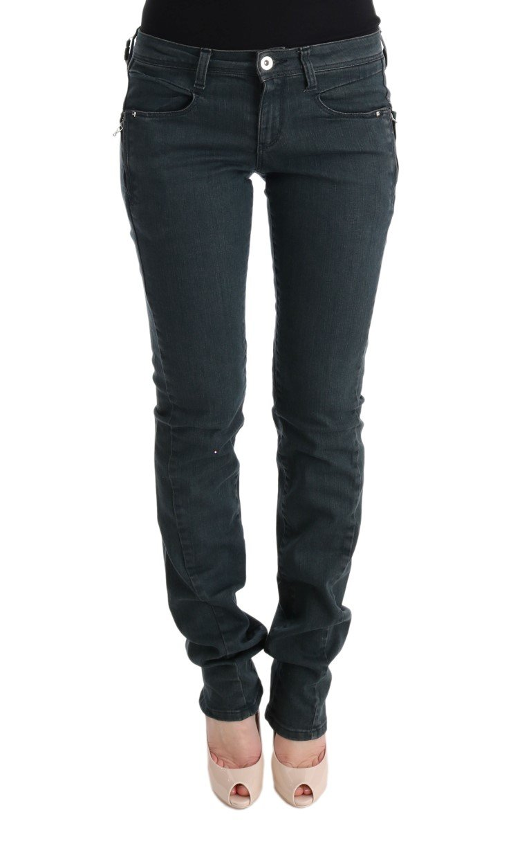 Costume National Women's Cotton Superslim Denim Jeans Gray SIG30125 - W26