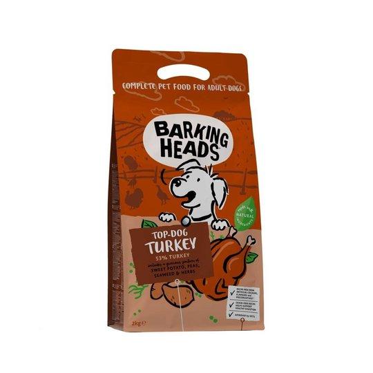 Barking Heads Top Dog Turkey (2 kg)