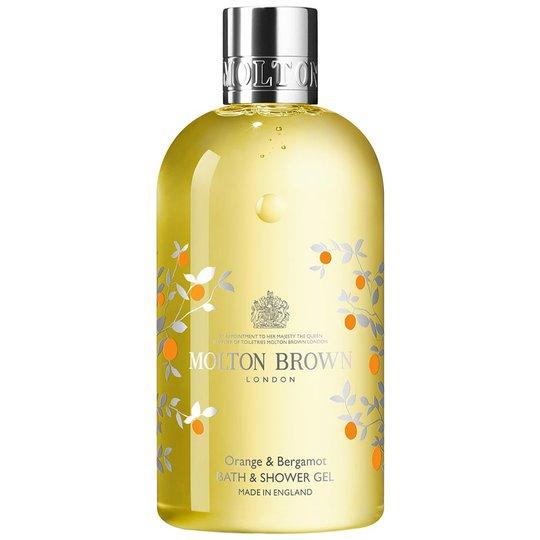 Orange & Bergamot Bath & Shower Gel, 300 ml Molton Brown Saippuat