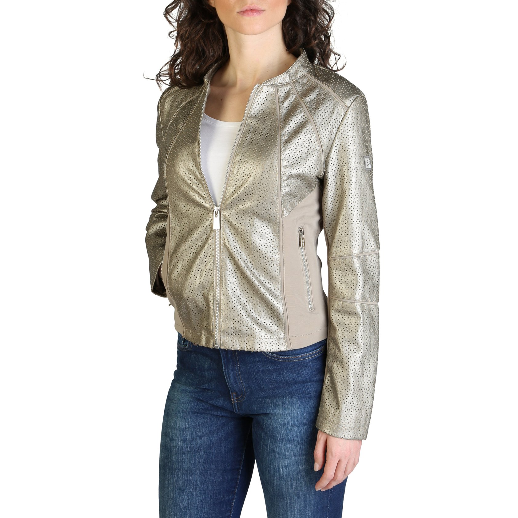 Yes Zee Women's Jacket Various Colours J405_G1FO - brown XS