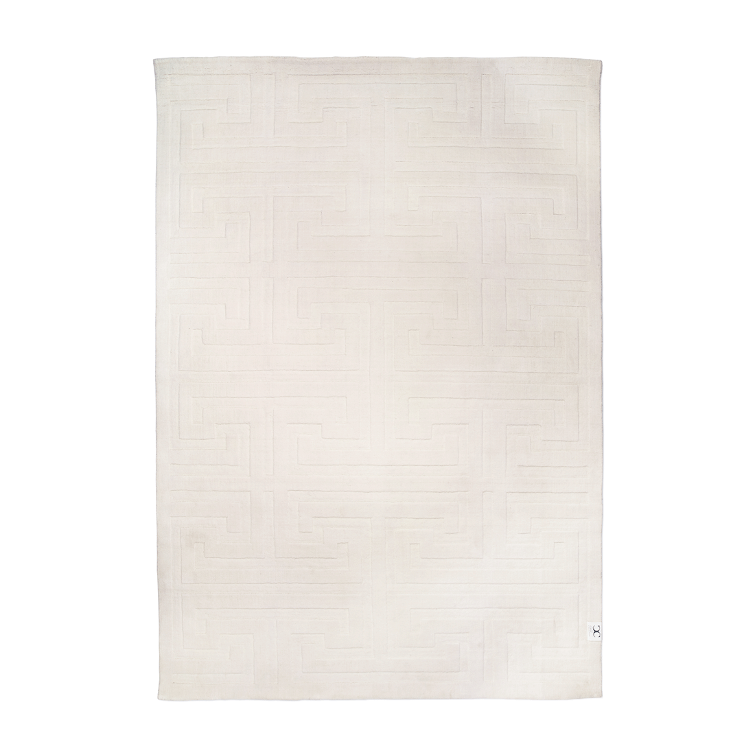 Vit ullmatta KEY WOOL 250 x 350 cm, Classic Collection
