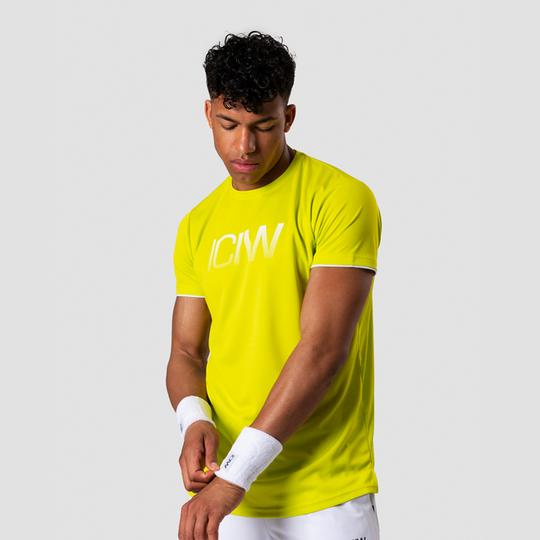Smash Padel Tech T-shirt, Lime/White