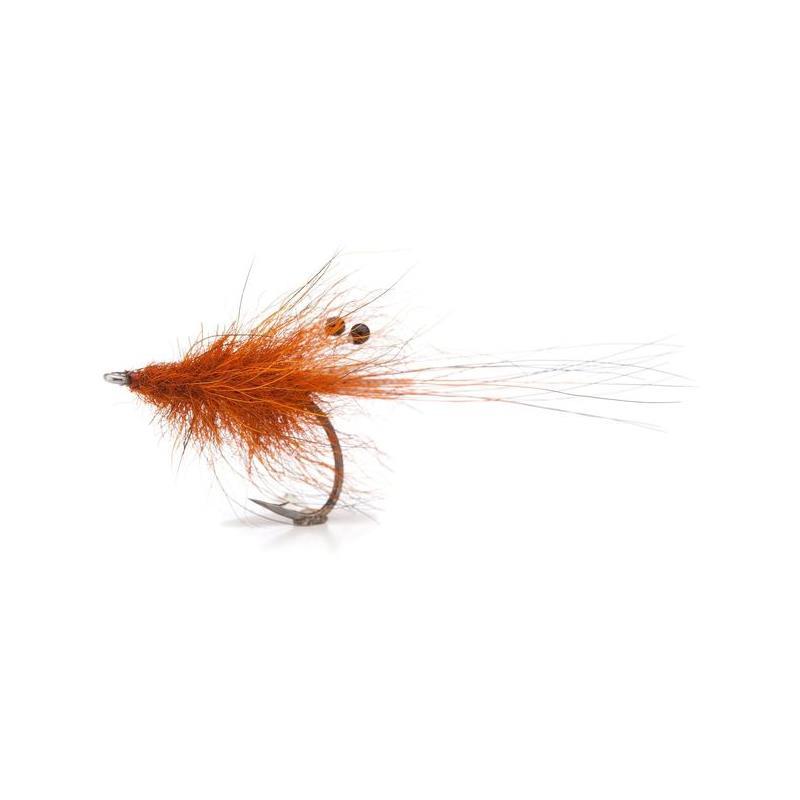 Aurarejen Oposom Burned Orange str. 4 Kjøp 12 fluer få gratis flueboks