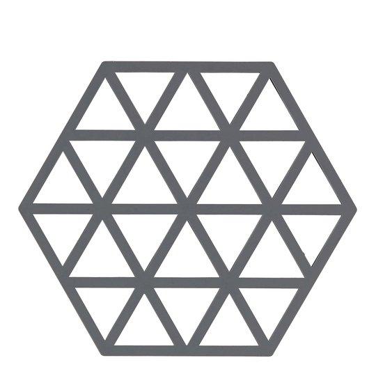 Zone Denmark - Triangles Grytunderlägg Silikon Grå 16 cm