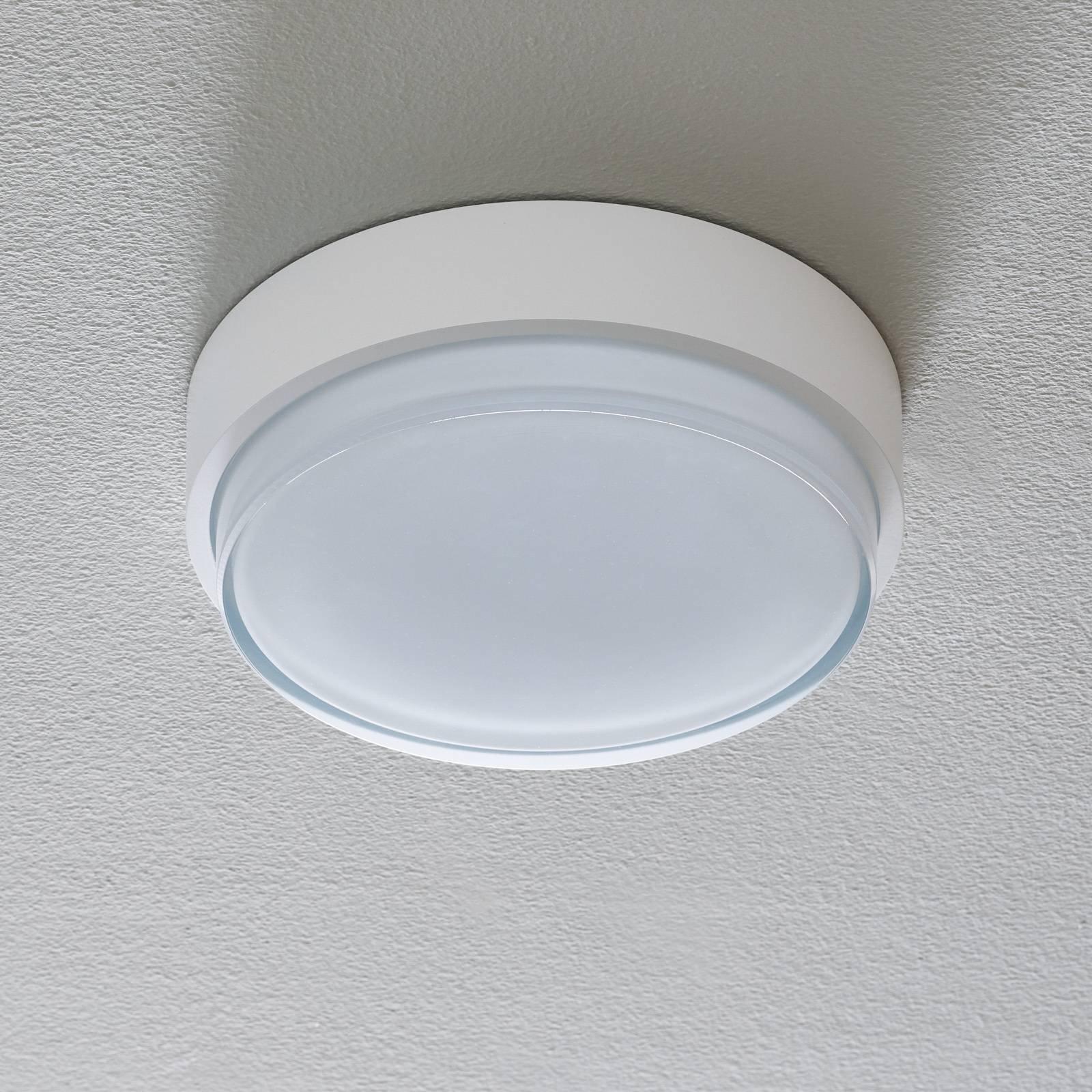 BEGA 50537 taklampe DALI 3 000 K hvit Ø26cm