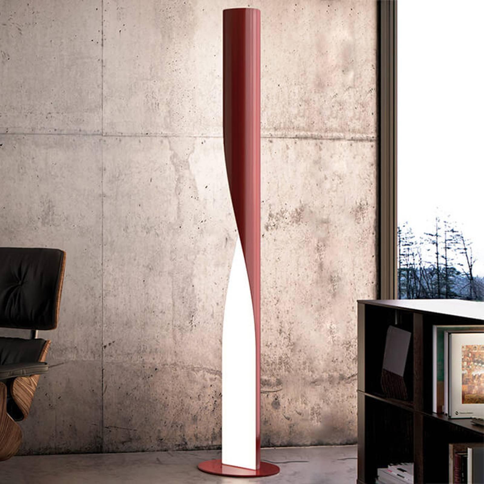 Kundalini Evita - LED-gulvlampe, rød