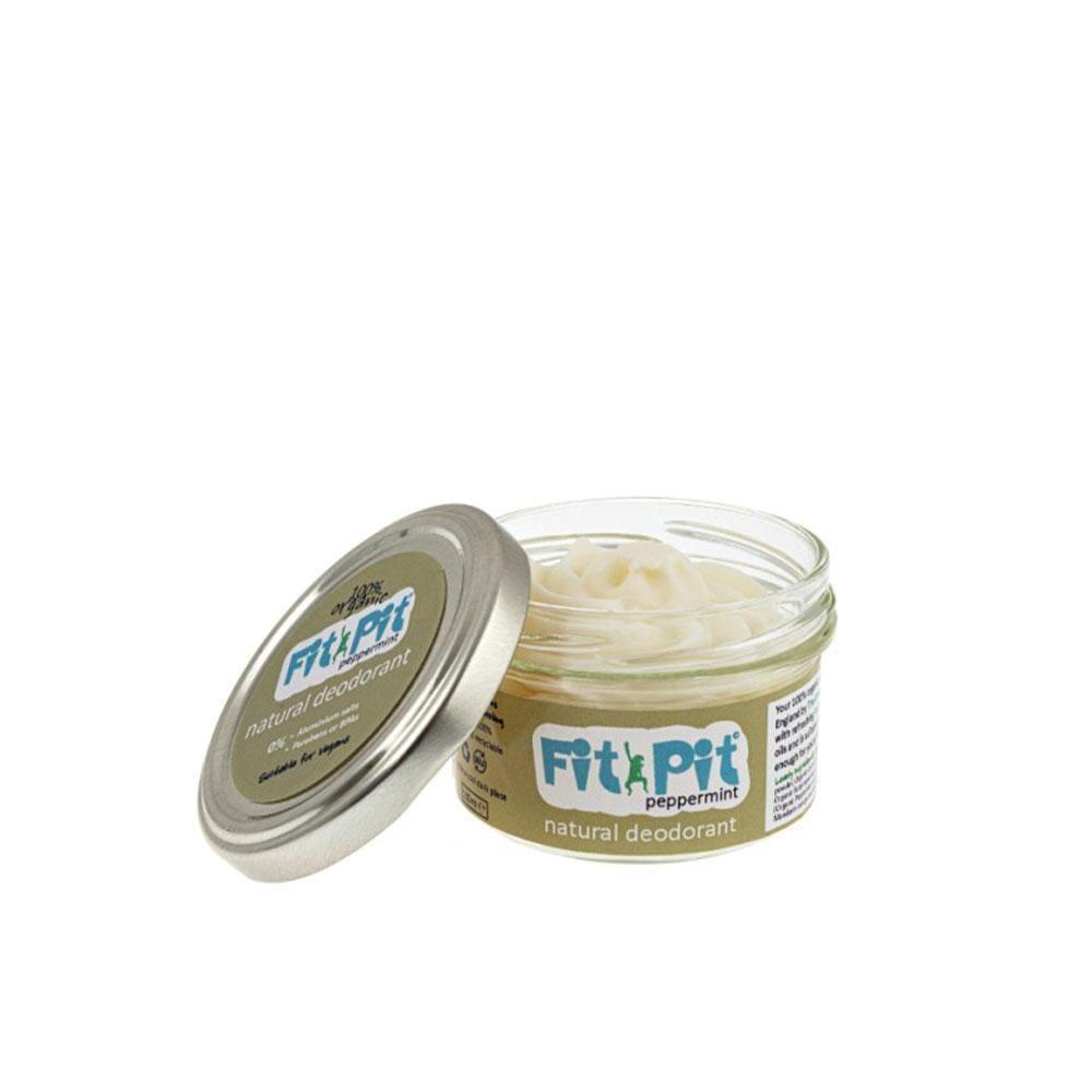 Fit Pit Peppermint – Natural Deodorant (25ml/100ml) 100ml