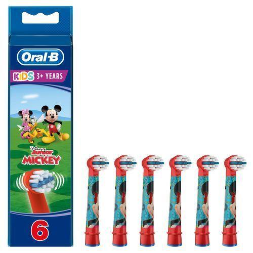 Oral-b Kids Mickey 2+2+2 Pcs Tillbehör Till Tandvård