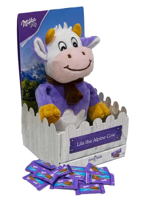 Milka Apline Cow med choklad 69g
