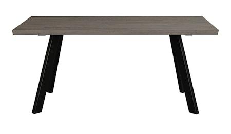 Fred matbord 170 mörkbrun ek/svart