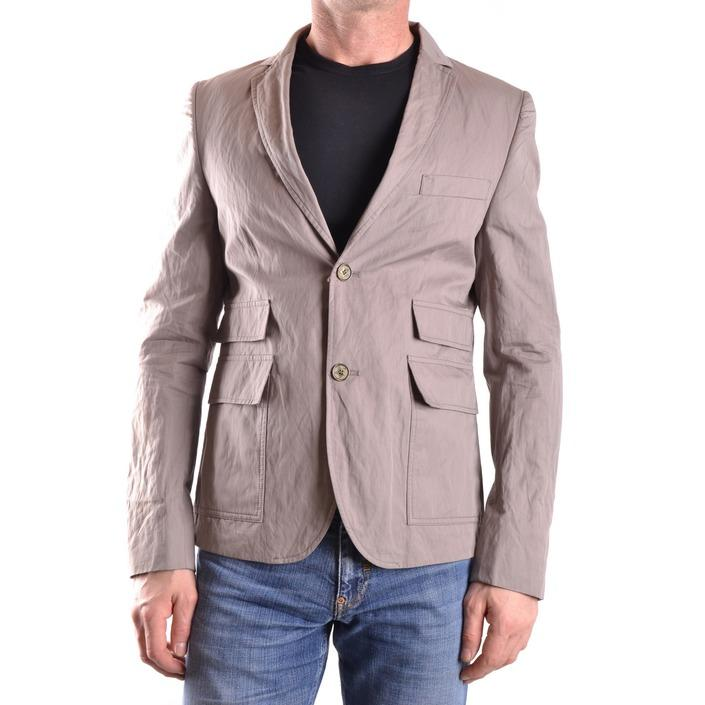 Daniele Alessandrini Men's Blazer Grey 163101 - grey 48