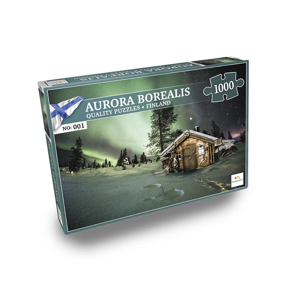 Nordic Quality Puzzles - FI:001 - Aurora Borealis (1000 pieces) (LPFI081)
