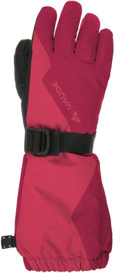 Vaude Kids Snow Cup Gloves Hansker, Bright Pink L