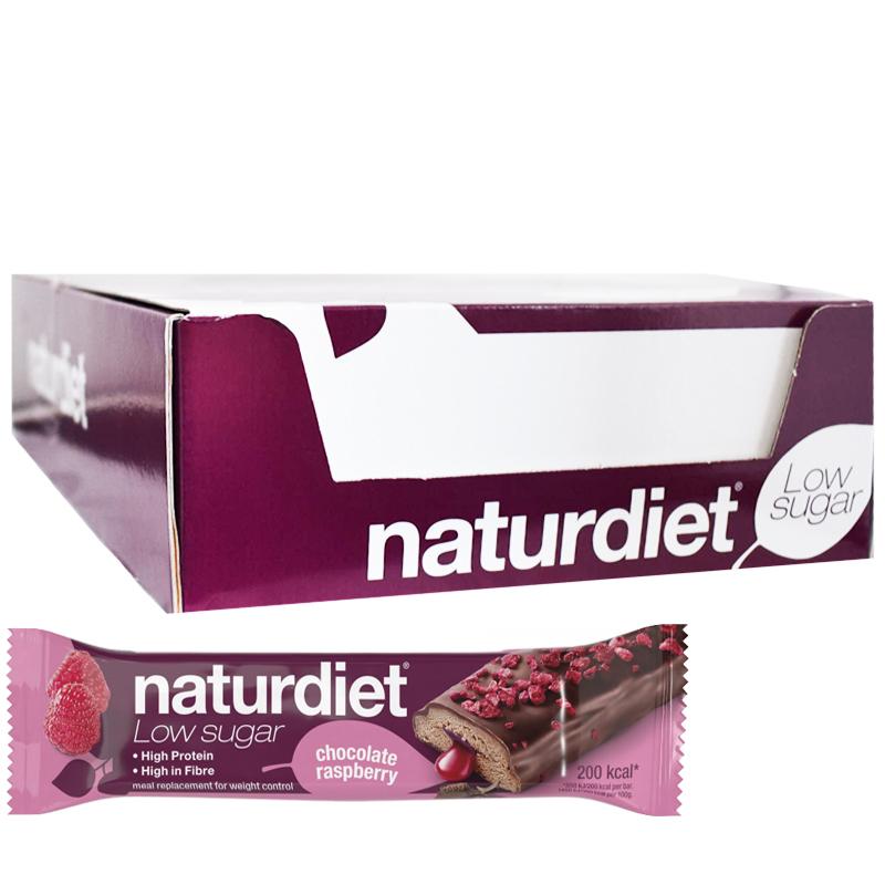 Ateriankorvikepatukoita Chocolate & Raspberry 18kpl - 44% alennus