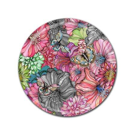Nadja Wedin Design Brett 65 cm Flower Power Rose