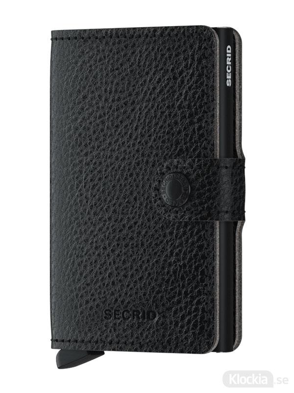 SECRID Miniwallet Veg Black MVg-Black