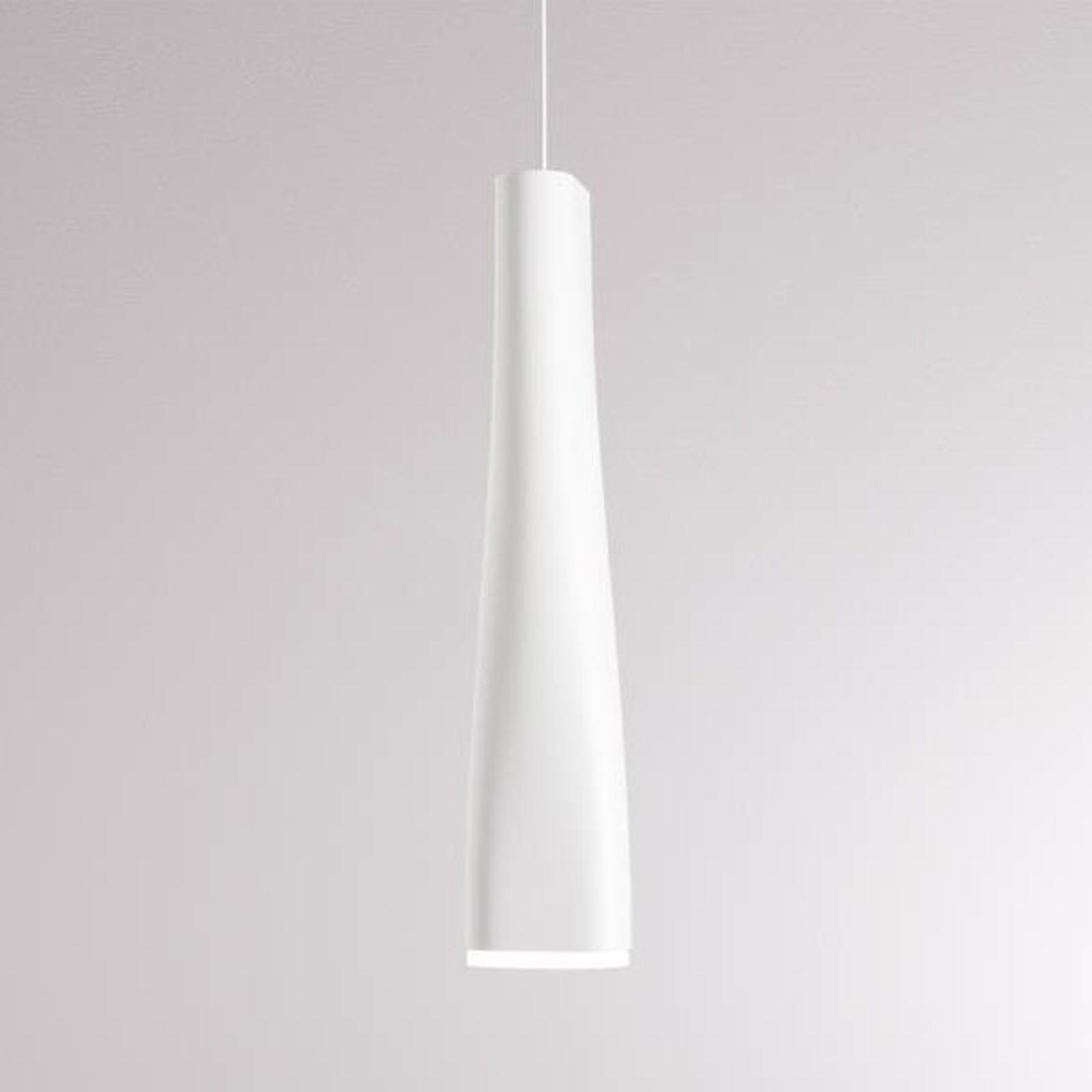 LOUM Fiume -LED-riippuvalaisin, valkoinen