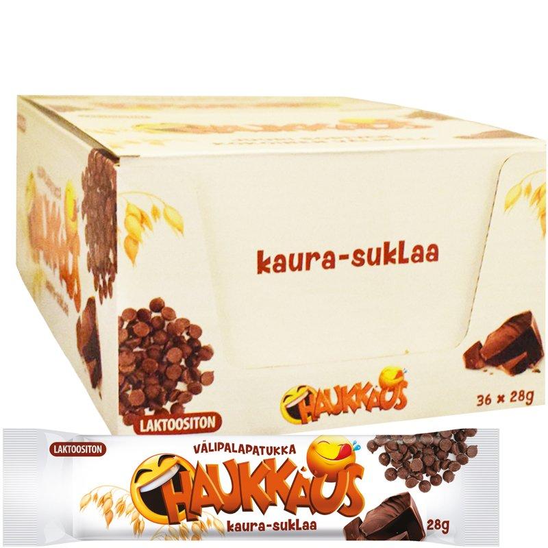 Välipalapatukat Kaura & Suklaa 36kpl - 40% alennus