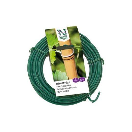 Nelson Garden 6038 Rautalanka sidontaan vihreä Ø3 mm, 10 m