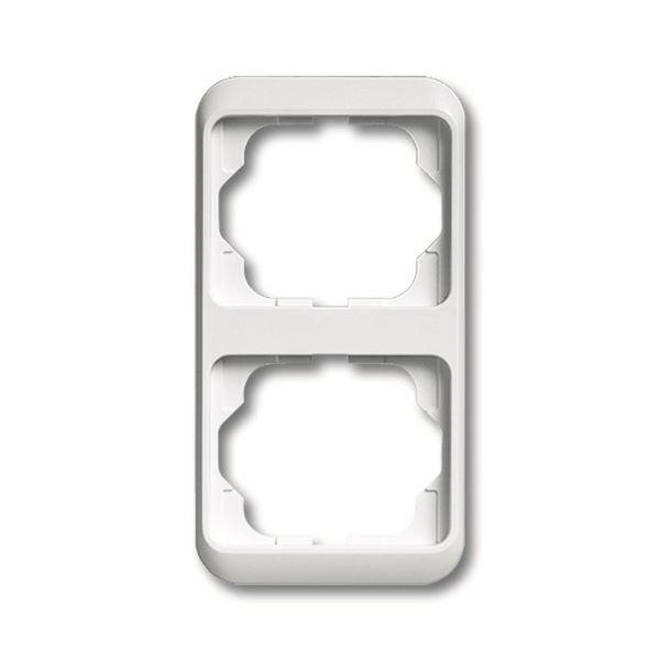 ABB 1754-0-1843 Peitekehys vaakasuora, valkoinen Kaksiosainen