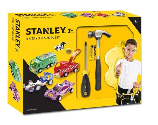 Stanley JR Klassisk Verktøysett Med 4 Stk Kjøretøy