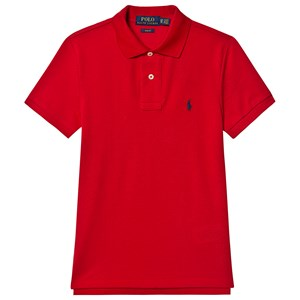 Ralph Lauren Logo Pikétröja Röd S (8 years)