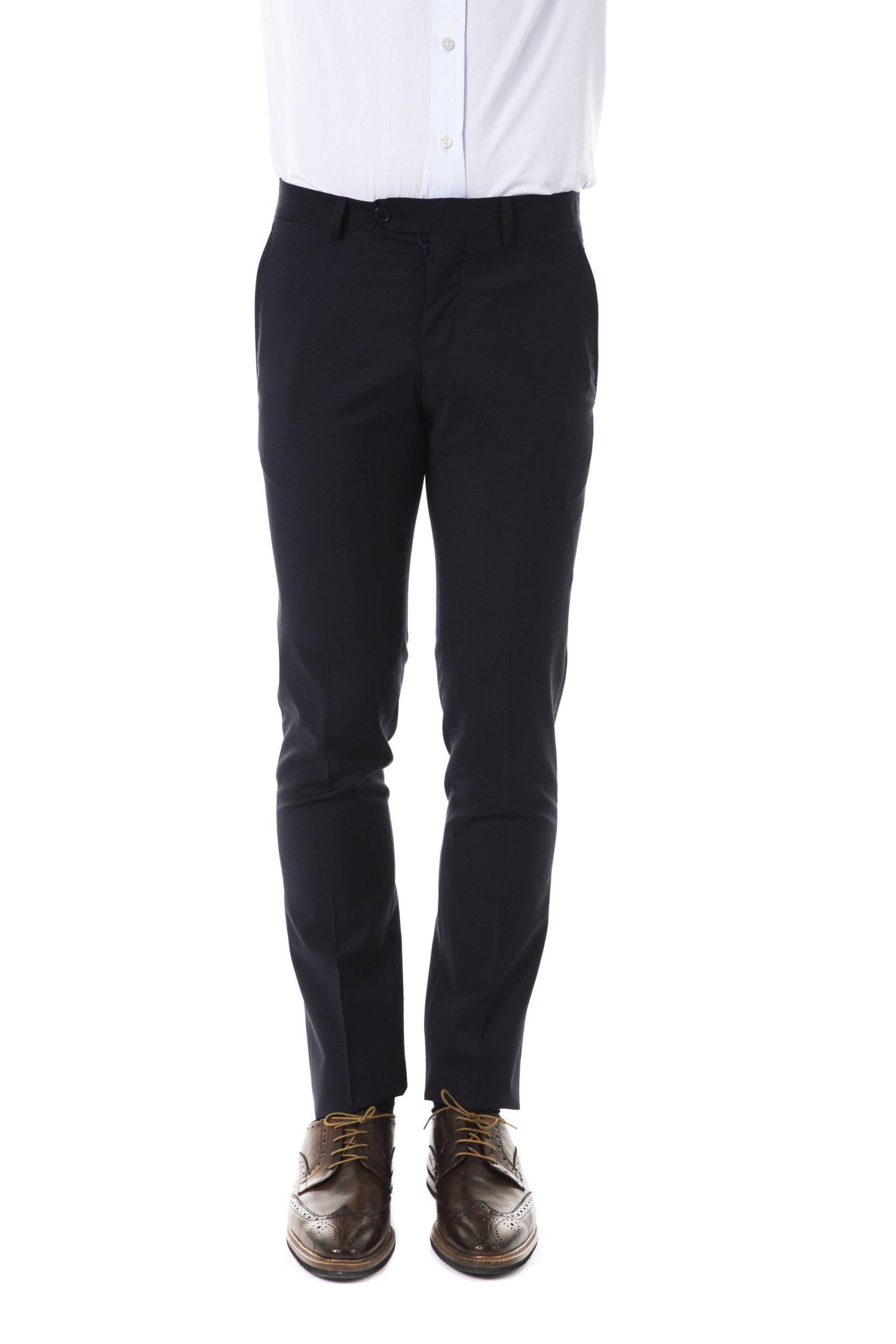 Uominitaliani Men's Trouser Gray UO1394747 - IT52   L