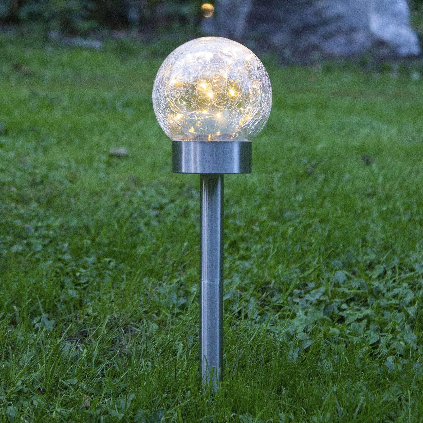 LED-solcellelampe Glory 3 i 1