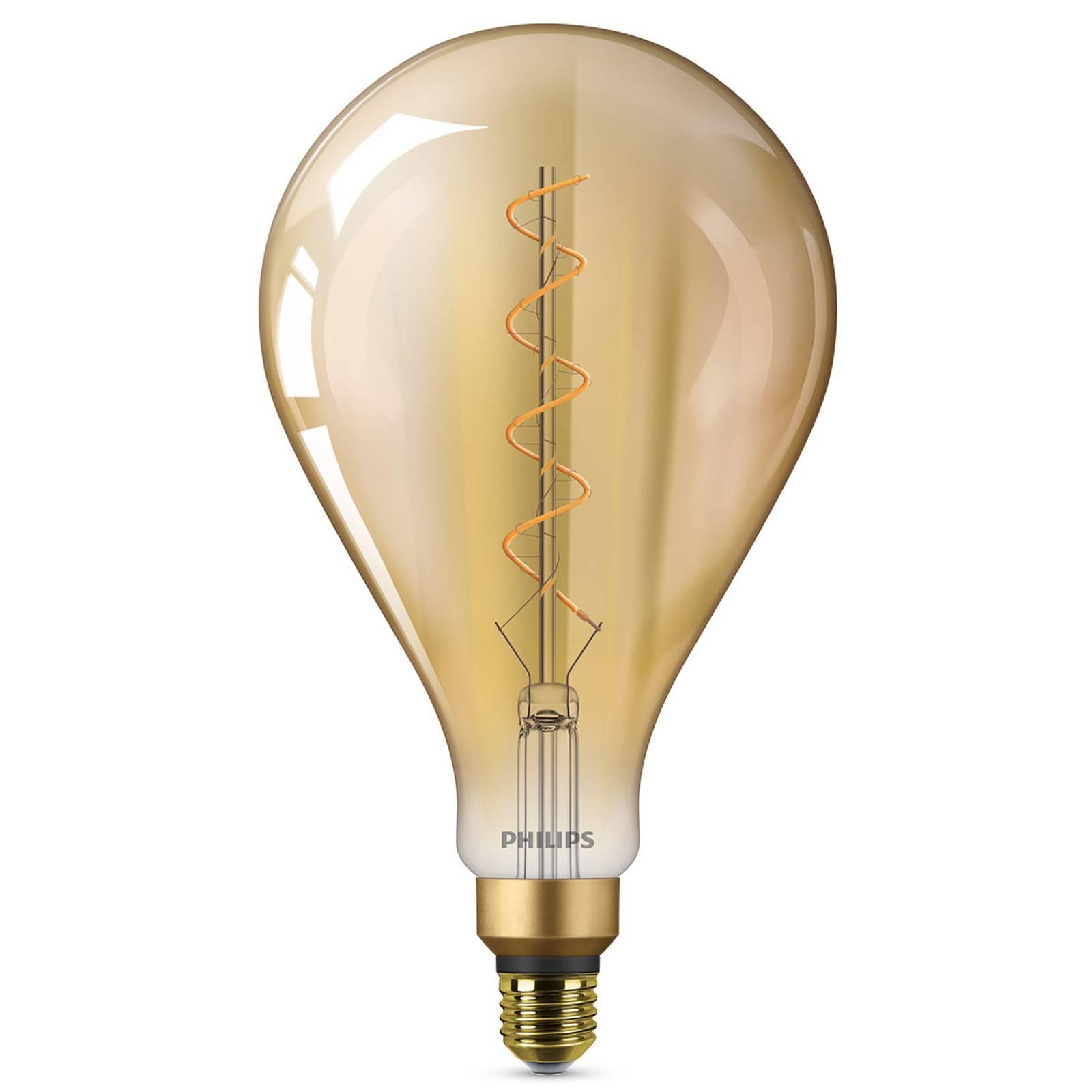 E27 5W LED-lamppu Giant, lämmin valkoinen, kulta