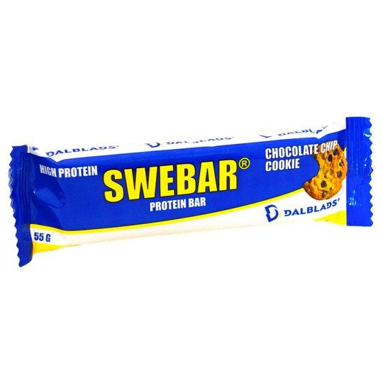 "Proteinbar ""Chocolate Chip Cookie"" 55g - 56% rabatt"