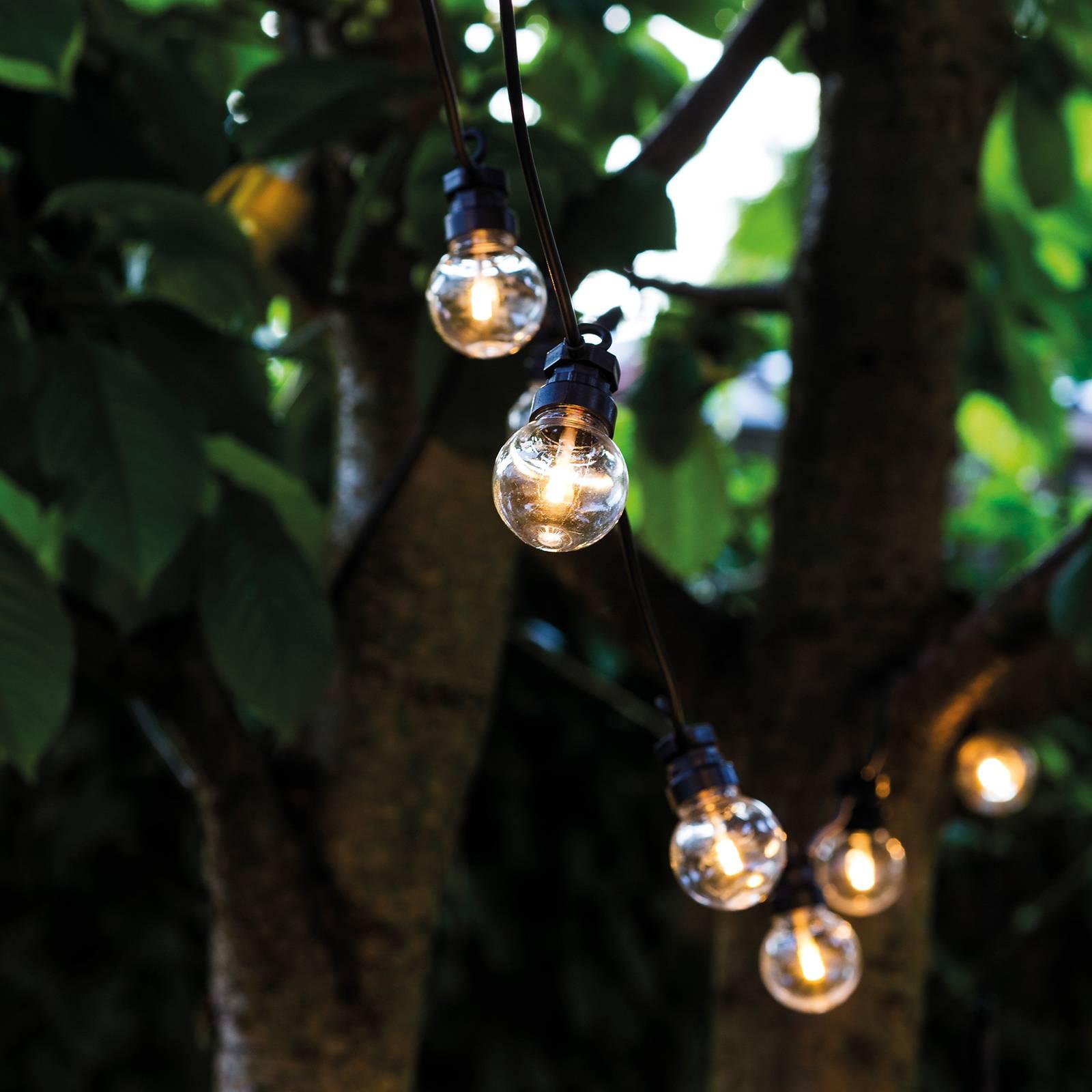 LED-valoketju Lucas, täydennyssarja, kirkas
