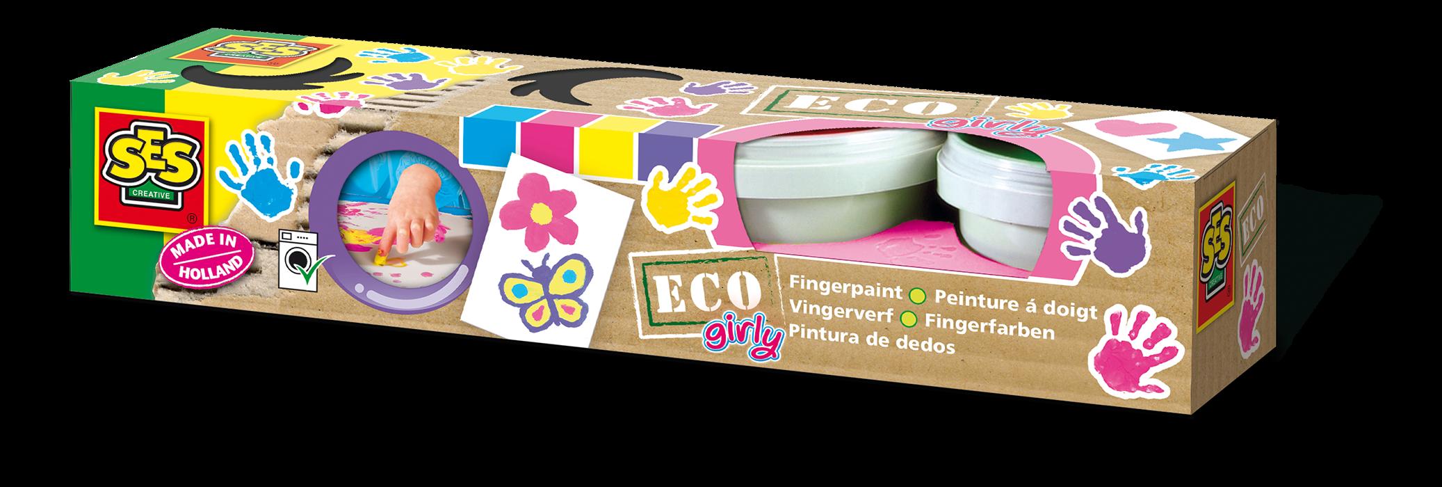 SES Creative - Fingerpaint - Trendy color - ECO (24927)