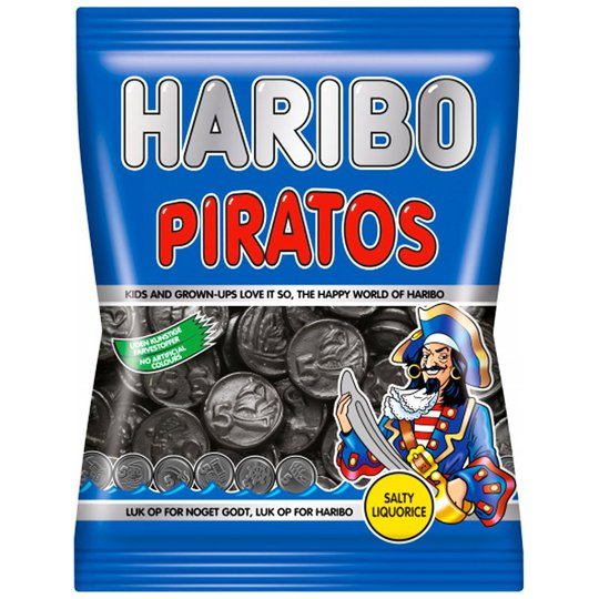 "Godis ""Piratos"" 80g - 44% rabatt"