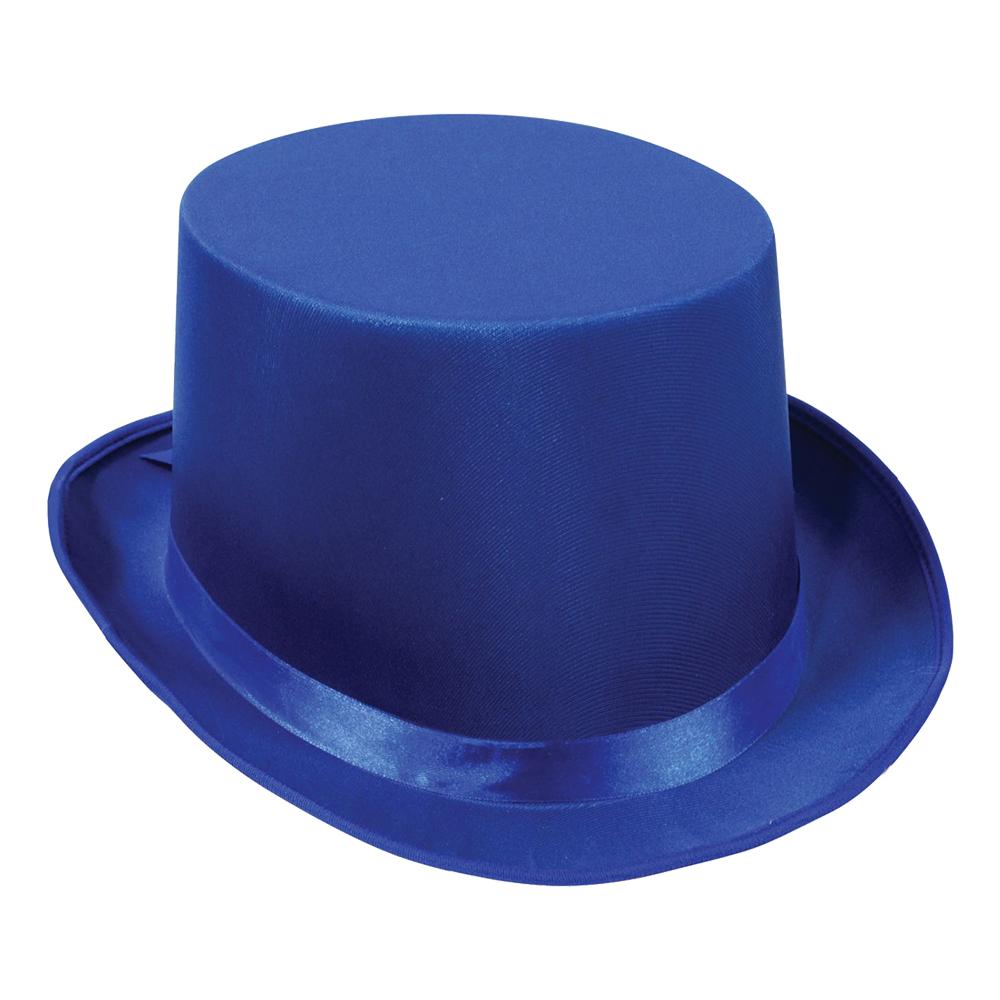 Höghatt Satin - Blå