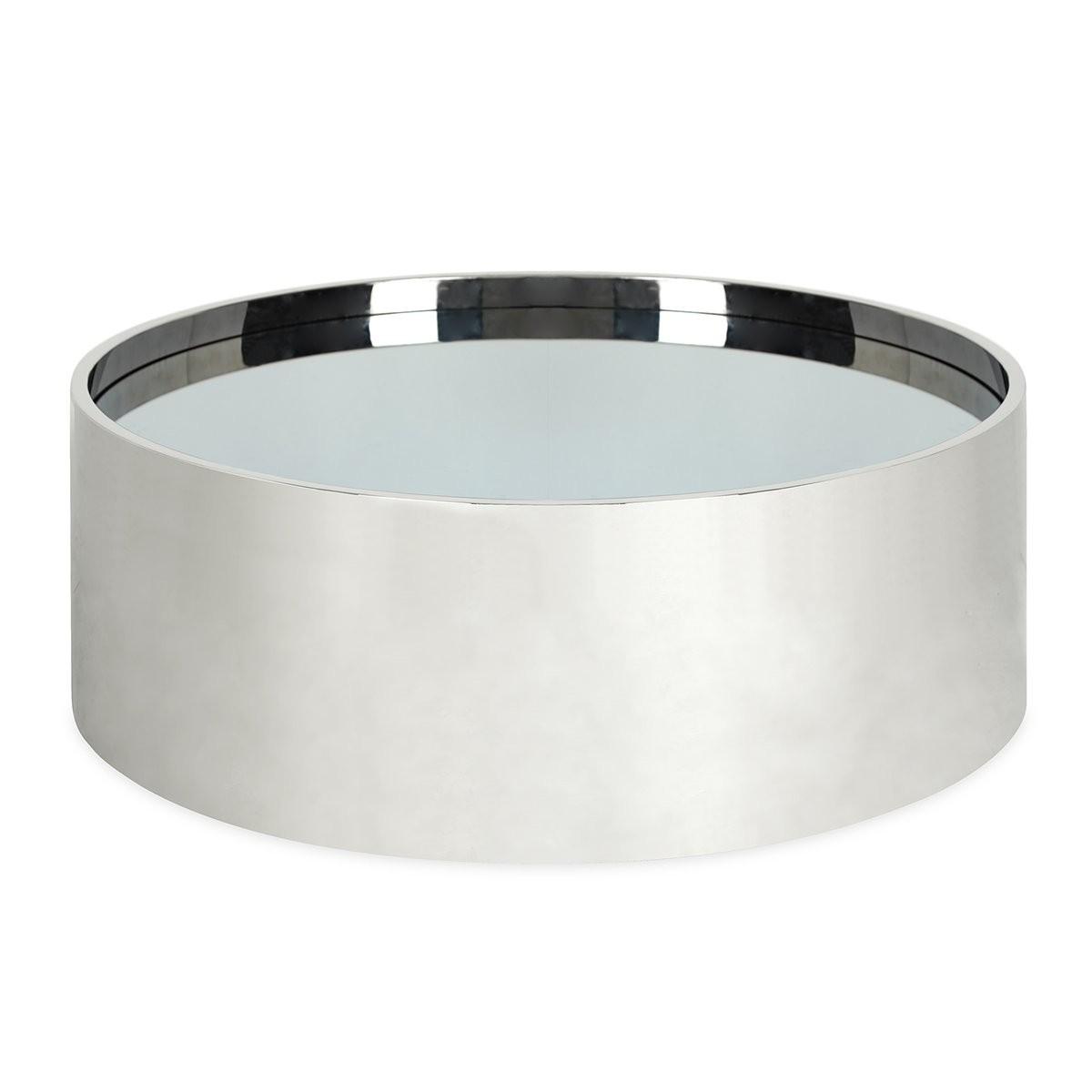 Jonathan Adler | Alphaville Cocktail Table Stainless Steel